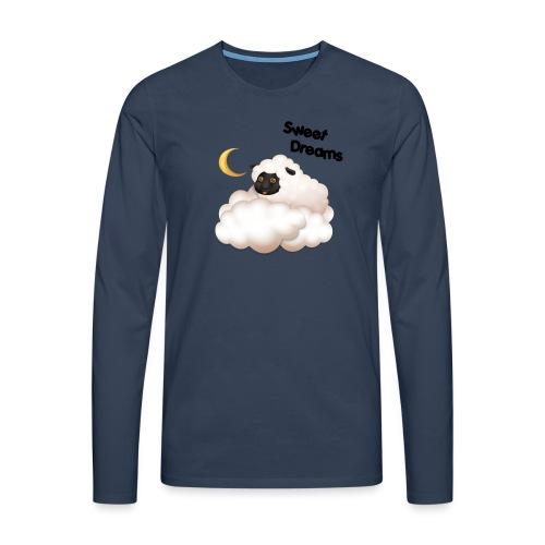 Słodkie sny wykonane przez SMA Frodik - Koszulka męska Premium z długim rękawem