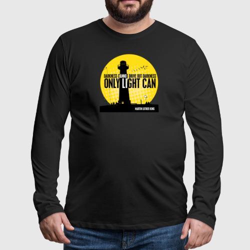MLK png - Herre premium T-shirt med lange ærmer