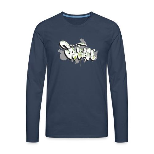 Mesk 2Wear graffiti style 7up ver02 - Herre premium T-shirt med lange ærmer