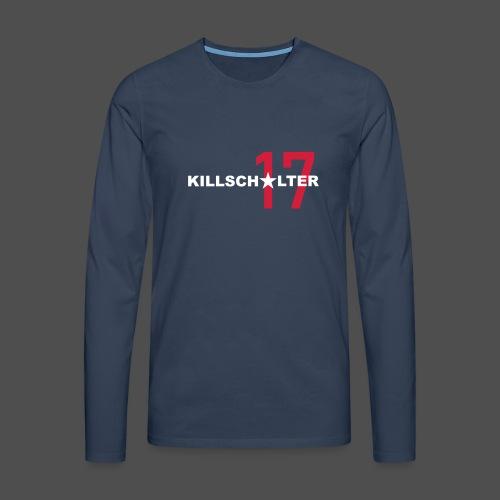 KILLSCHALTER 17 - Koszulka męska Premium z długim rękawem
