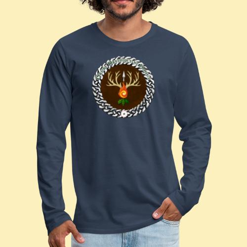 Médaillon de Neved - T-shirt manches longues Premium Homme