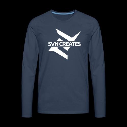 SVN Shirt logo 1 png - Mannen Premium shirt met lange mouwen