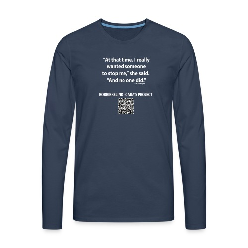 Caras Project fan shirt - Men's Premium Longsleeve Shirt