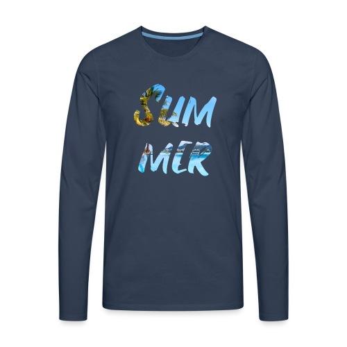 Summer - Männer Premium Langarmshirt