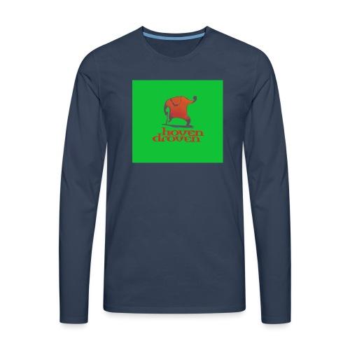 Slentbjenn Knapp - Men's Premium Longsleeve Shirt