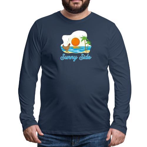 Sunny side - Maglietta Premium a manica lunga da uomo