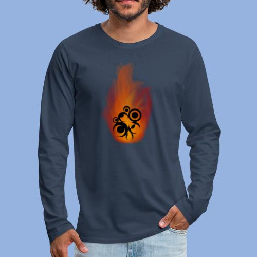 Should I stay or should I go Fire - T-shirt manches longues Premium Homme