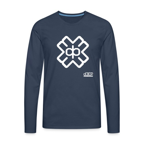 July D3EP Blue Tee - Men's Premium Longsleeve Shirt
