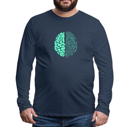 Künstliche Intelligenz t-shirt✅ - Männer Premium Langarmshirt