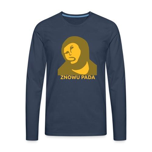 Znowu pada Jeżus z Borja - Koszulka męska Premium z długim rękawem