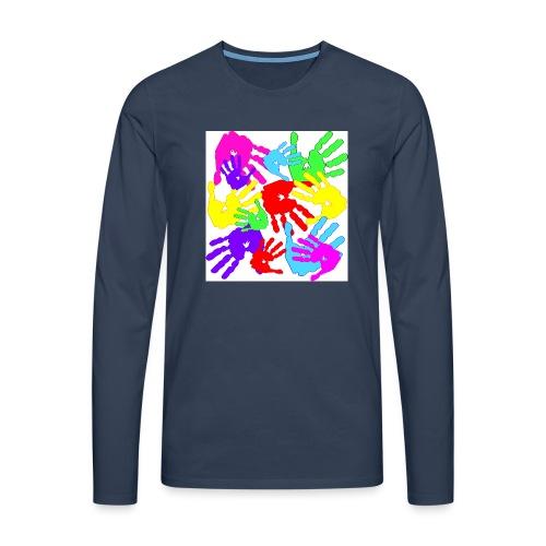 pastrocchio2 - Maglietta Premium a manica lunga da uomo