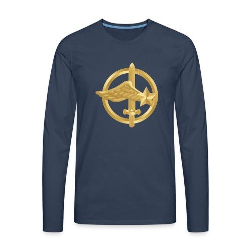 Tasse Fusiliers Commandos de l'Air - T-shirt manches longues Premium Homme