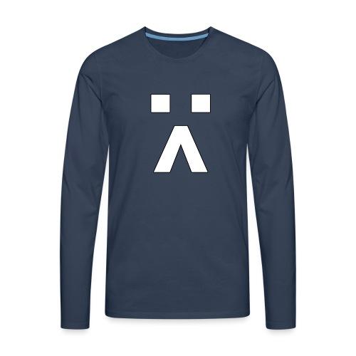 :< Smiley - Männer Premium Langarmshirt