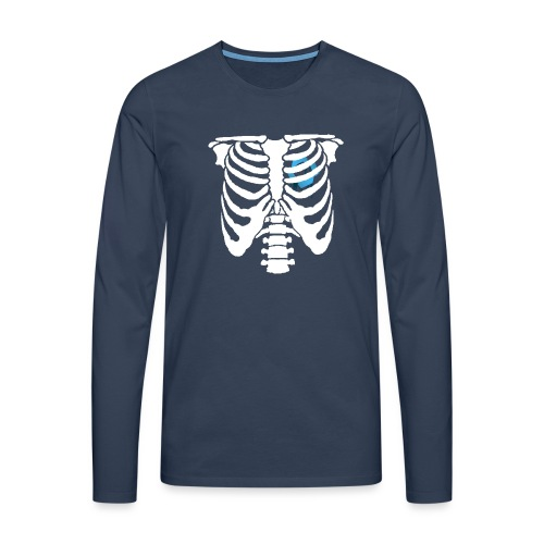 JR Heart - Men's Premium Longsleeve Shirt