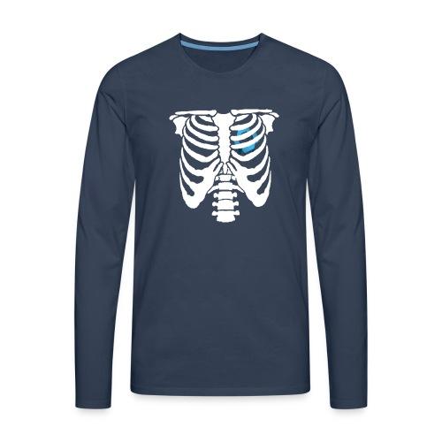 JR Heart - Men's Premium Longsleeve Shirt