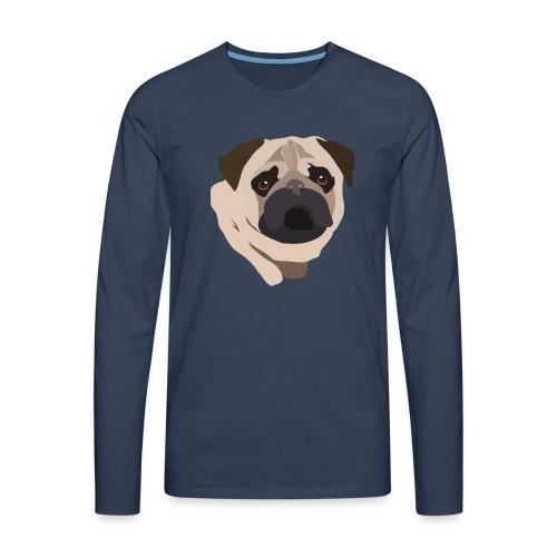Pug Life - Men's Premium Longsleeve Shirt