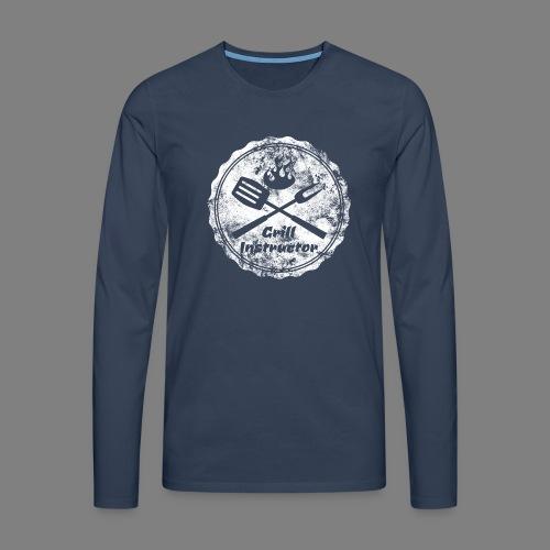 Grill Instructor - Männer Premium Langarmshirt