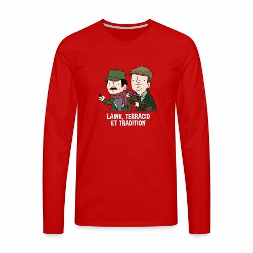 Laink, Terracid et Tradition - T-shirt manches longues Premium Homme