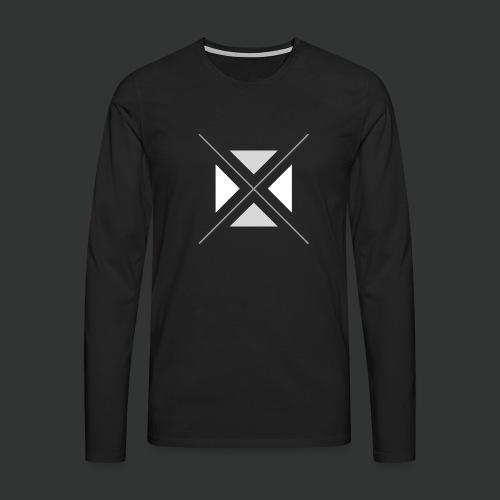 triangles-png - Men's Premium Longsleeve Shirt