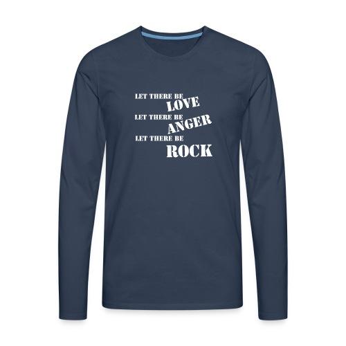 Love Anger Rock - Men's Premium Longsleeve Shirt