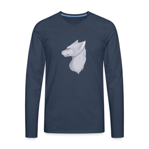 Wolf Bib - Men's Premium Longsleeve Shirt