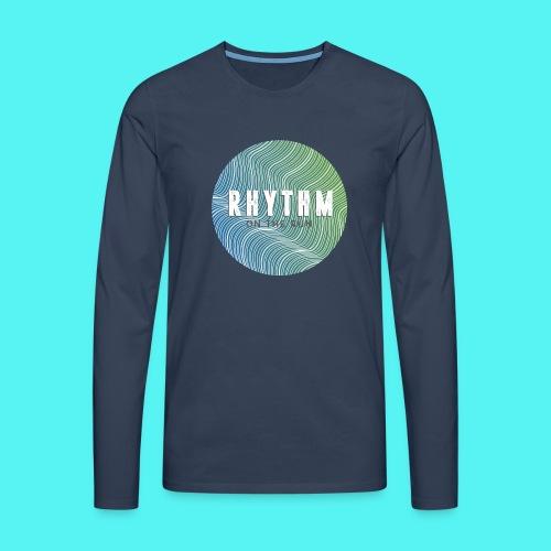 Rhythm On The Run Logo - Men's Premium Longsleeve Shirt