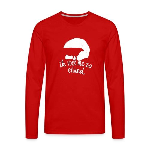 Eiland shirt - Mannen Premium shirt met lange mouwen