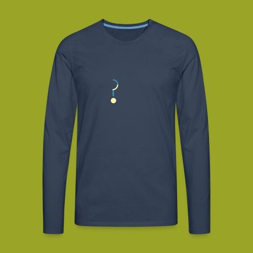 Question Mark - Men's Premium Longsleeve Shirt
