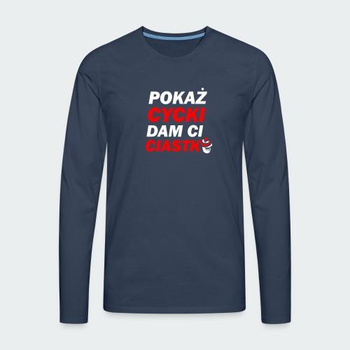 Męska Koszulka BlackSPECIAL - Koszulka męska Premium z długim rękawem