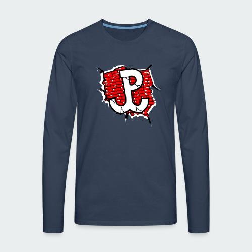 Męska Koszulka Patriotyczna Premium - Koszulka męska Premium z długim rękawem