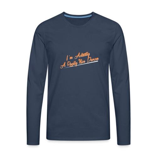 nice-person - Men's Premium Longsleeve Shirt