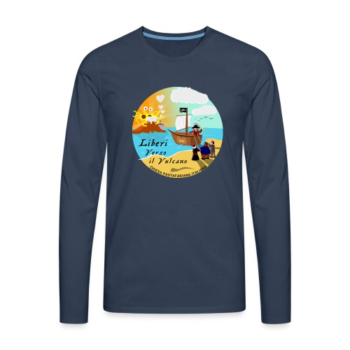 Verso_il_Vulcano_SHOP_DEF - Maglietta Premium a manica lunga da uomo