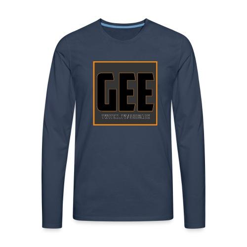 LOGOTSHIRT - Herre premium T-shirt med lange ærmer