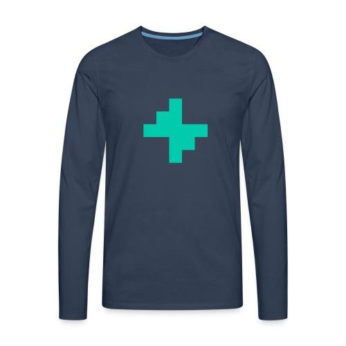 Bluspark Bolt - Men's Premium Longsleeve Shirt
