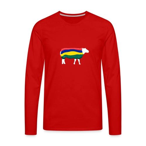 Schaap van Terschelling - Mannen Premium shirt met lange mouwen