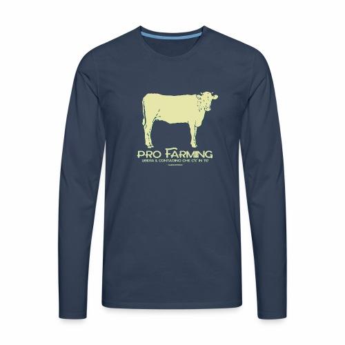 PRO Farming - Maglietta Premium a manica lunga da uomo