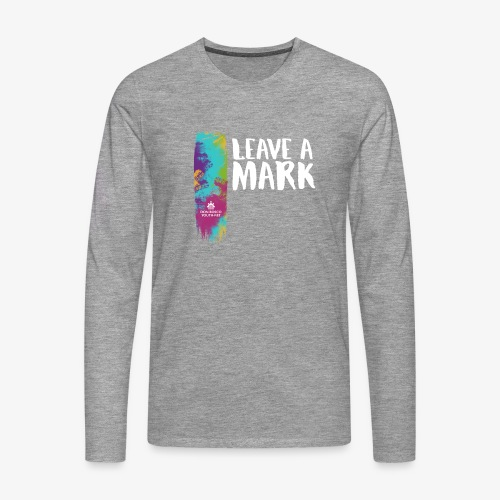 Leave a mark - Men's Premium Longsleeve Shirt