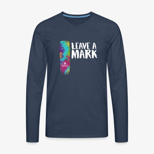 Leave a mark - Men's Premium Longsleeve Shirt