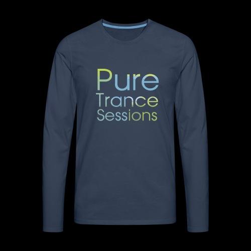 pts text hd - Men's Premium Longsleeve Shirt