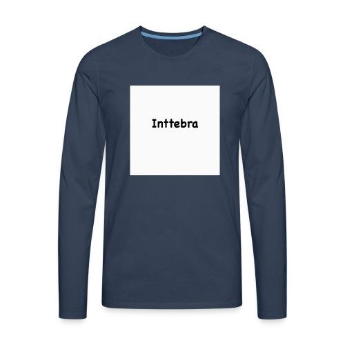 isdfihdguihduhigds - Miesten premium pitkähihainen t-paita