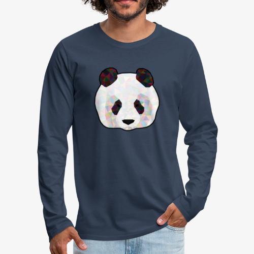 Panda - T-shirt manches longues Premium Homme