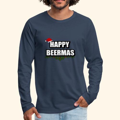 HAPPY BEERMAS AYHT - Men's Premium Longsleeve Shirt