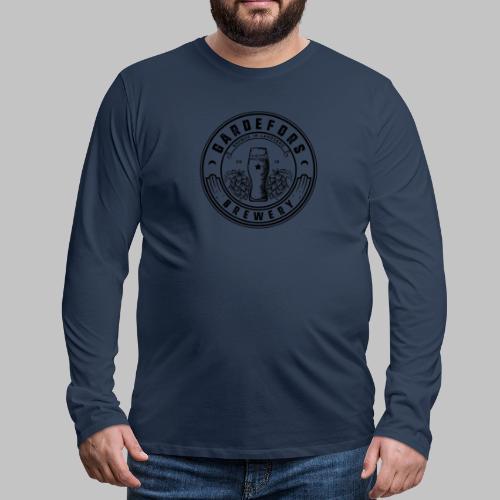 Gardefors Brewery - Långärmad premium-T-shirt herr