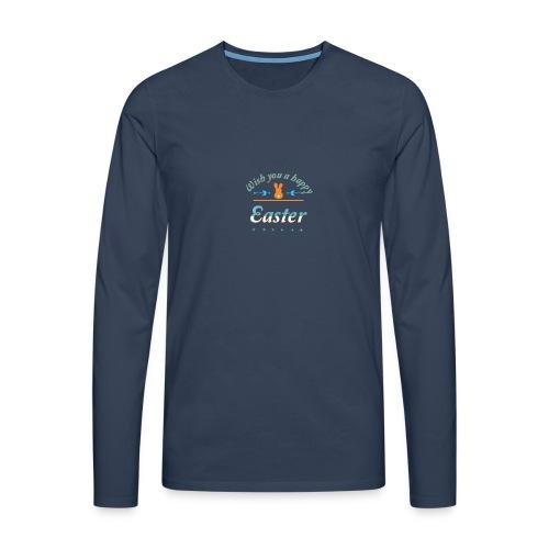 HappyEaster - Männer Premium Langarmshirt