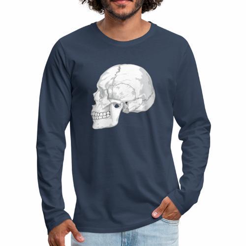 Schädel - Männer Premium Langarmshirt