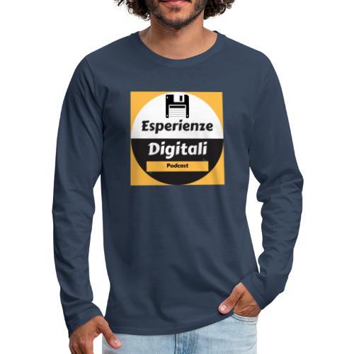 Logo Esperienze Digitali - Maglietta Premium a manica lunga da uomo