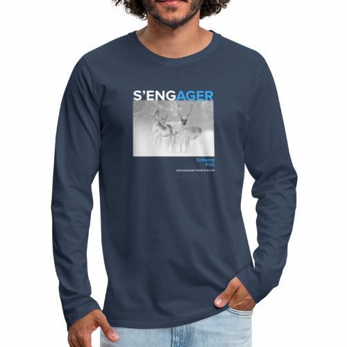 1 Achat = 1 Don au Centre de soin LPO Aquitaine - T-shirt manches longues Premium Homme
