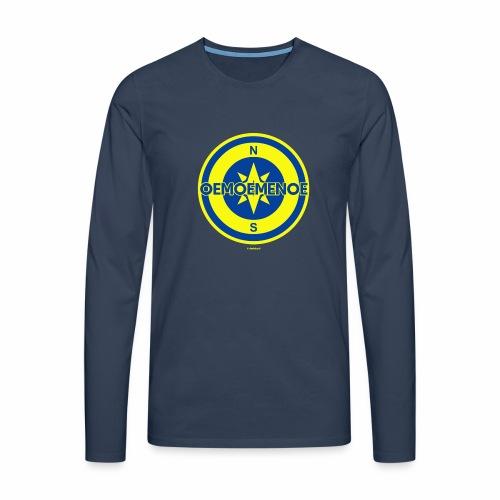 Oemoemenoe - Mannen Premium shirt met lange mouwen
