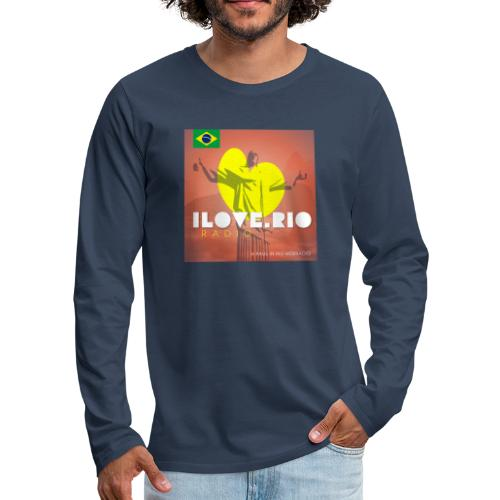 I LOVE RIO RADIO - Men's Premium Longsleeve Shirt