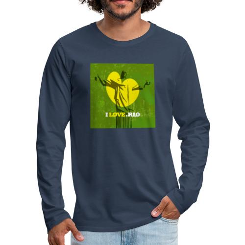 ILOVE.RIO MATA ATLANTICA - Men's Premium Longsleeve Shirt